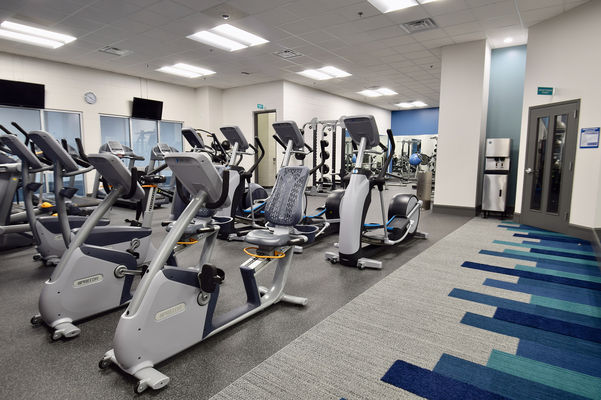 Occupied Renovations™ ※ Projects ※ Corporate Fitness Center