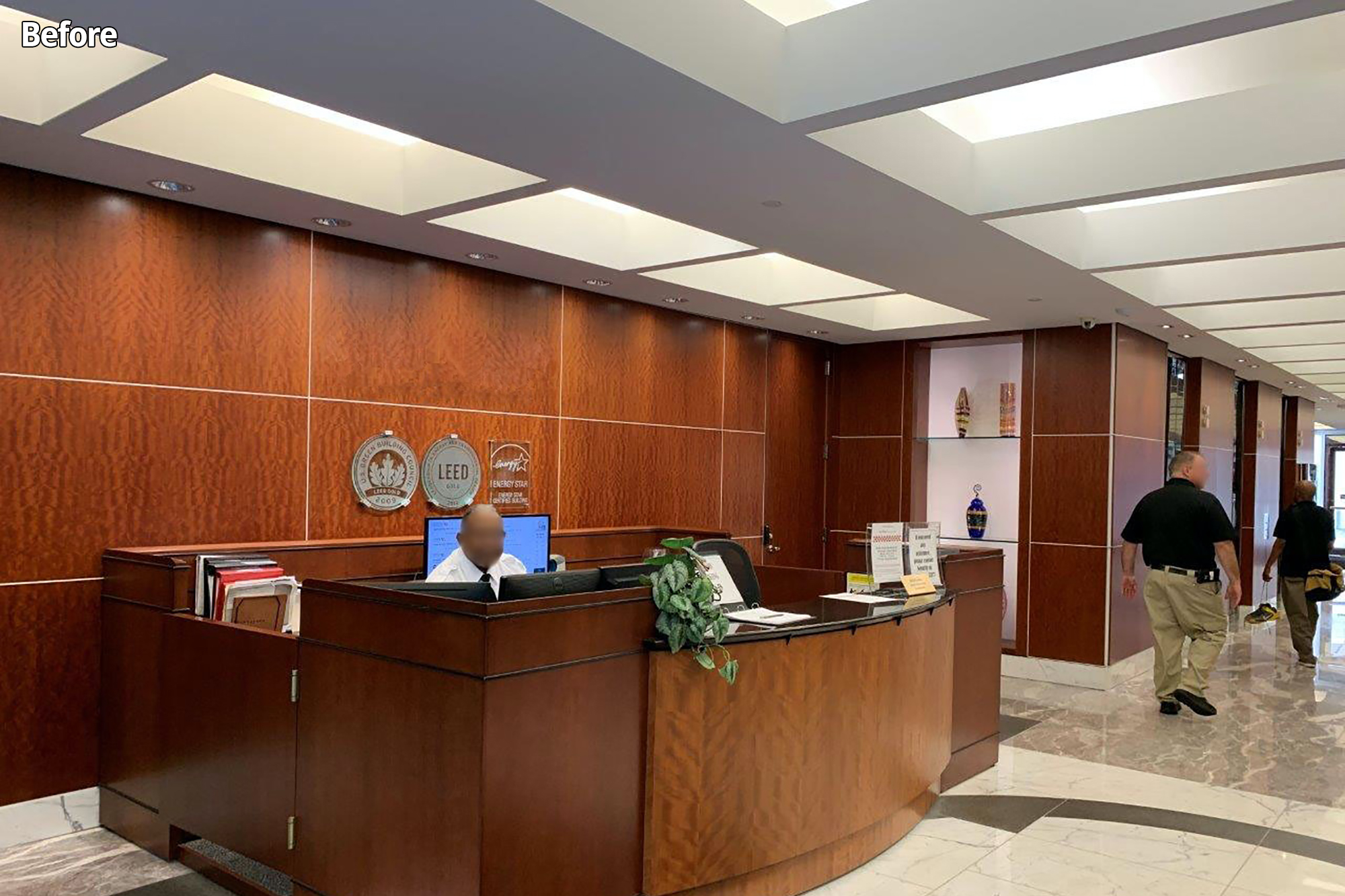 Corporate Office Lobby Photo